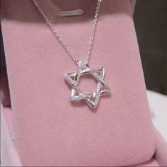 Jewish silver Star of David 925plated necklace Jewish silver Star of David 925plated necklace Jewelry Necklaces