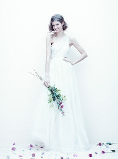 Love the style, dislike the brand. Gorgeous, though. j.crew bridal gowns for spring 2011