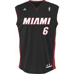 adidas Men's Miami Heat LeBron James NBA Replica Away Jersey | adidas UK