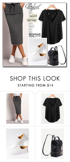 """""""Romwe"""" by ruza66-c ❤ liked on Polyvore featuring WithChic, Tag and romwe"""