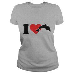 I love Dolphins TShirts201735100436 - I love Dolphins T-Shirts201735100436 #Whale #Whaleshirts #iloveWhale # tshirts