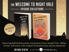 From the authors of the New York Times bestselling novel Welcome to Night Vale and the creators of the #1 international podcast of the same name, come the collections of episodes from Volumes One and Two of their hit podcast, featuring introductions by the authors, behind-the-scenes commentary, and original illustrations. Mostly Void, Partially Stars and The Great Glowing Coils of the Universe are absolute must-haves