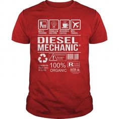Awesome Tee For Diesel Mechanic T-Shirts, Hoodies, Sweatshirts, Tee Shirts (22.99$ ==> Shopping Now!)