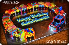 Candy Thomas Train Cake Sabrina's going to love this time for this mommy to get things going :)