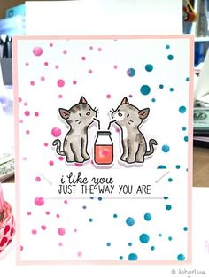 Make A Card | Just The Way You Are @ listgirl.com