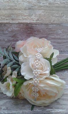 Pearl bridal bracelet, bridal accessories