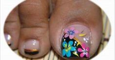 Resultado de imagen para uñas pinceladas sencillas paso a paso