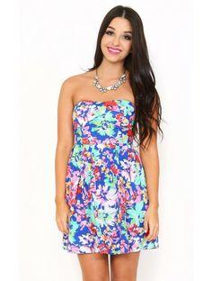 Flower Child Tube #Dress