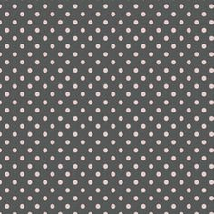 Gray and White Polka Dot Fabric by the Yard | Carousel Designs