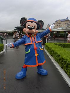 Mickey Mouse of a rainy day.
