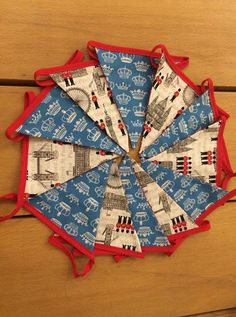 London themed bunting by MadebyTarainCornwall on Etsy, £17.50