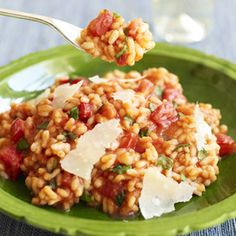 Microwave Tomato Risotto - Rice Recipes - Good Housekeeping