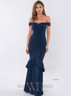 Rosetta Gown. A gorgeous off-shoulder dress by Australian brand Love Honor. The Rosetta Gown is crafted from a mid-weight stretch Crepe fabric which is beautiful on the body and fits in all the right places. Perfect for Bridesmaids, Formals and Wedding Guests.