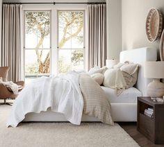 Upholstered Platform Bed, Upholstered Beds, Free Interior Design, Interior Design Services, Free Design, Stylish Bedroom, Make Your Bed, Furniture Decor, Bedroom Furniture