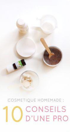 cosmétique homemade : 10 conseils d'une pro avec Fanny de Joli'Essence www.sweetandsour.fr #diy
