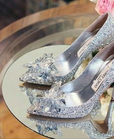 1b13c2c63ded Call me a magpie but I am in LOVE with these sparkly shoes by Jimmy Choo!
