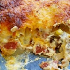 Twice Baked Cheesy Potato Casserole