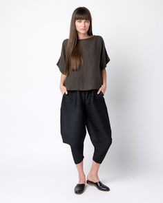 Thicker Bounce Pants in Black