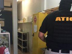 Descubren supuesto narcolaboratorio en vivienda asegurada en San Pedro Sula