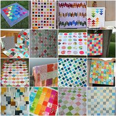 Charm Pack quilt ideas
