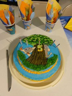 phineas and ferb birthday cake.