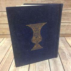 The Haggadah Arthur Szyk Cecil Roth Passover Seder Blue Velvet Cover Judaica