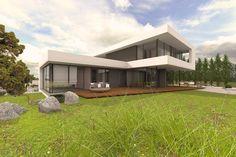 Designhaus mit Flachdach Sachsen-Anhalt