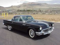 My dad's car~ We called it the bat mobile!  Ford Thunderbird | American Classic Cars