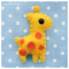 Giraffe Plushie 2.0 by littlepaperforest.deviantart.com on @deviantART