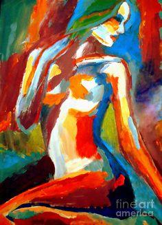 Glowing With Splendor Painting  - Glowing With Splendor Fine Art Print