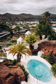 Mini road trip d'une semaine à Lanzarote — Îles Canaries | Black and Wood