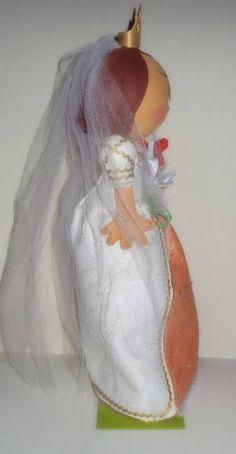 Rapunzel noiva Ref 86