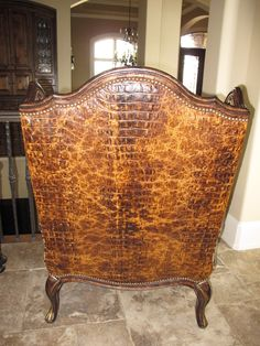 Projects Plenty: Leopard Print Chair