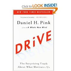 Drive: The Surprising Truth About What Motivates Us -- a book not directly written for teachers, but Pink's insight into motivation was very instrumental to my students' success this year Reading Lists, Book Lists, Books To Read, My Books, Genius Hour, Psychology Books, Learning To Be, Motivation, School Fun
