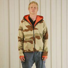 Griffin Upside Down Jacket - Camo £349  http://www.griffin-studio.com/welcome/product/upside-jacket-desert-camo/ #griffin #griffinstudio #menswear #sportswear #fashion #lovelife #lovesummer #loveland #podlife