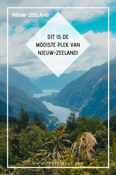 Doubtful Sound, Nieuw-Zeeland: alles over deze hidden gem - Travel a Lut Nepal, New Zealand, Dutch, Places To Go, Things To Do, Ads, Mountains, Travel, Lisbon