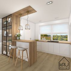 321 Küche oben Best Way To Tackle Cleaning Do you have one of those really big, filthy, completely Kitchen Bar Design, Home Decor Kitchen, Interior Design Kitchen, Kitchen Furniture, Home Kitchens, Kitchen Upstairs, Kitchen Modular, Modern Kitchen Interiors, Design Moderne