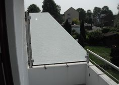 Roof Balcony, Balcony Privacy, Top Freezer Refrigerator, Outdoor Gardens, Kitchen Appliances, House, Cyprus, Garden Ideas, Fence Garden