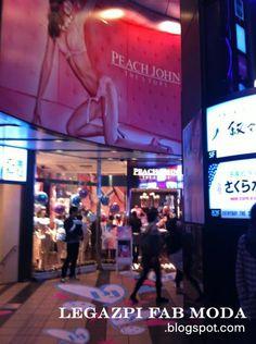 Peach John Shinjuku Store  http://legazpifabmoda.blogspot.com/2012/05/peach-john-latest-summer-collection.html