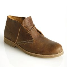 Men's Chukka Lined Boot in Tribe Leather | Roots