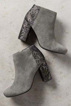 Harry Potter Slytherin House Style ankle booties on anthropologie.com