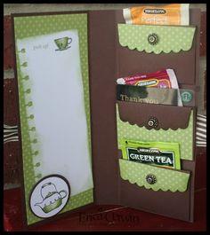 Pink Buckaroo Designs: Tutorial: Gift Pocket Wallet