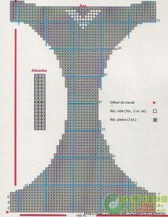 Схемы для вязания лифа . Обсуждение на LiveInternet - Российский Сервис Онлайн-Дневников