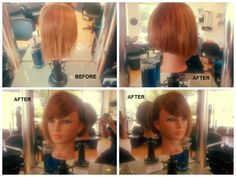 I adore doing hairdressing, love my job :)