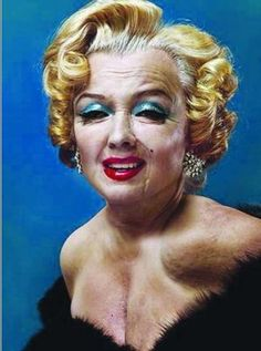 Marylin Monroe in old age