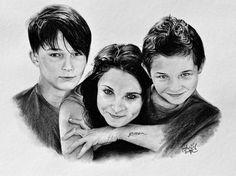 Portrét rodinné trojky