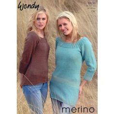 Bell Sleeve Dress & Sweater in Wendy Merino DK (5638) £2.99