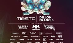 Tiësto & Dillon Francis to Headline Utah Festival
