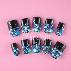 Hey, I found this really awesome Etsy listing at https://www.etsy.com/listing/97026694/japanese-3d-nail-art-press-on-nails
