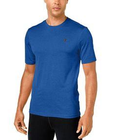 Champion Men's Short Champion Men's Short-Sleeve Performance T-Shirt Running Wear, Running Pants, Sport Pants, Mens Running, Gym Shorts, Mens Fitness, Champion, Mens Tops, T Shirt